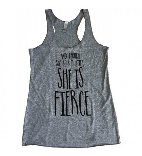 Friendly Oak Womens Fierce Tank