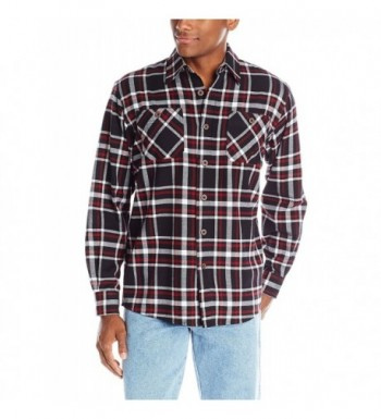 Wrangler Authentics Long Sleeve Flannel Caviar
