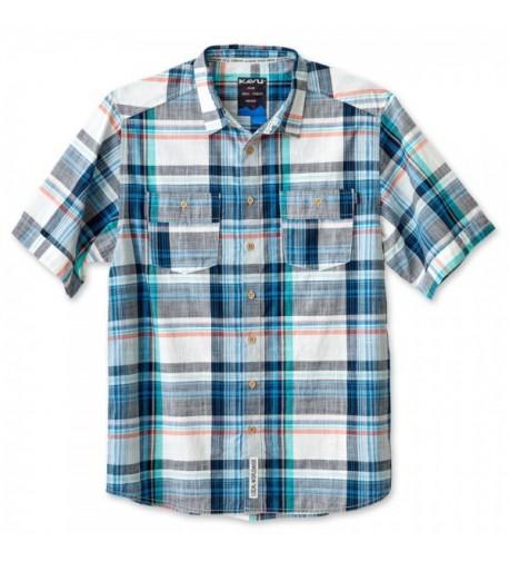 KAVU Rumson Button Shirts Pacific