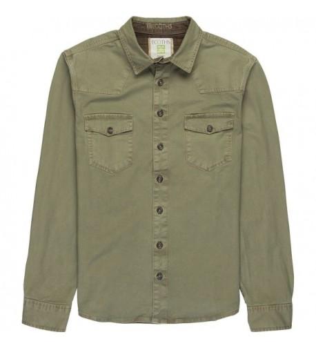 Ecoths Brock Overshirt Lichen Clothing
