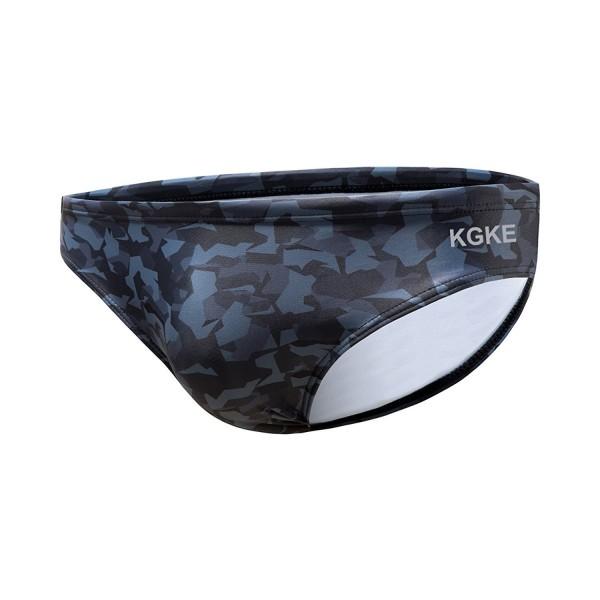 KGKE Briefs Pattern Bikini Swimsuit