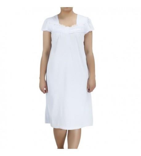af9d9c17c5 Women s Luxury Bamboo Viscose Nightgown - Stylish Cozy Sleepwear ...