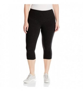 36e3c4943c341 Women s Plus Size Curve Basix Compression Capri - Black - CG12F688AR1