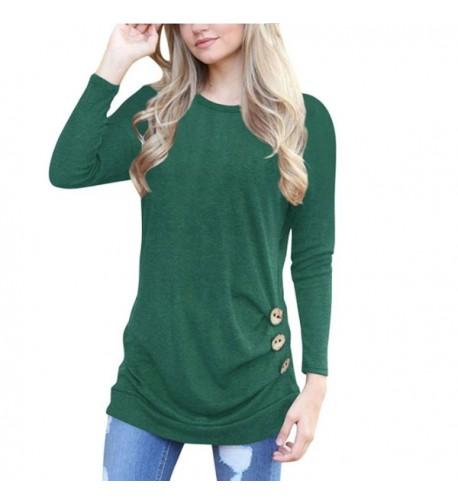 YAOYUE Womens Sleeve T Shirt Knitted