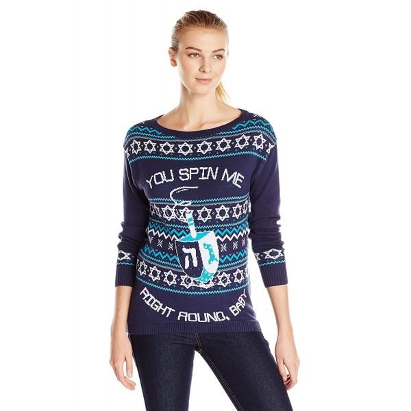 Isabellas Closet Dreidel Hanukkah Sweater