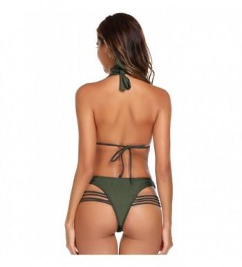 ab86b2d2e8 Ekouaer Womens Swimsuits Bandeau Bathing; Cheap Designer Women's Bikini Sets  Online ...
