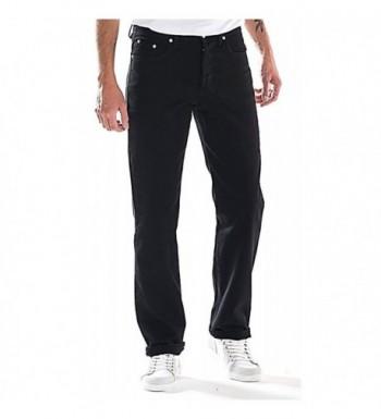 Full Blue Mens Black Jeans
