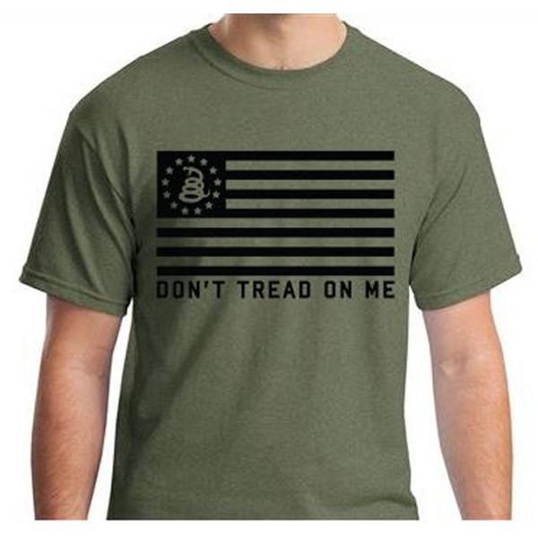 Dont Tread Gasden Tshirt Green