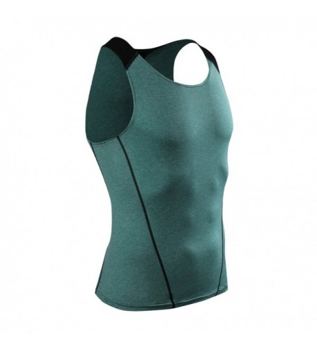 ADHEMAR Compression Sleeveless Workout Bodybuilding