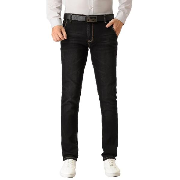 524e4017 Men's Skinny Slim Fit Stretch Comfy Fashion Straight Leg Denim Jeans ...