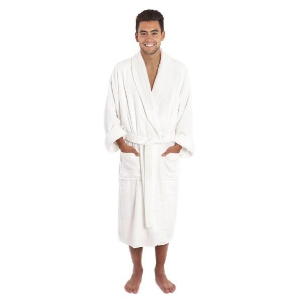 Luxury Collar Toweling Bathrobe Cotton