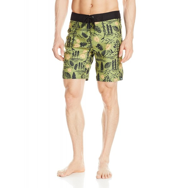 HippyTree Mens Paradise Trunk Shorts