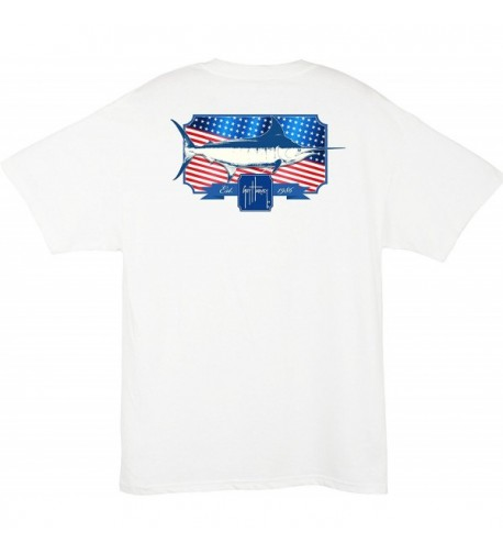 Guy Harvey Spangled Pocket T shirt