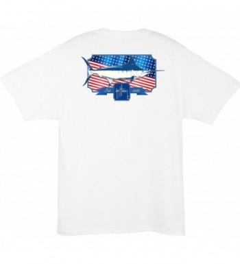 Guy Harvey Spangled Pocket T shirt