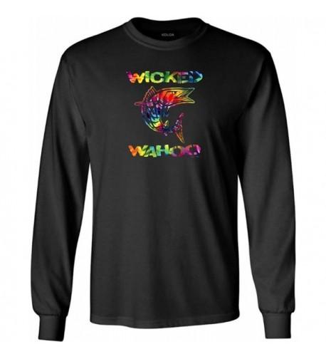 Wicked Sleeve Cotton T Shirt Black multi 2XL