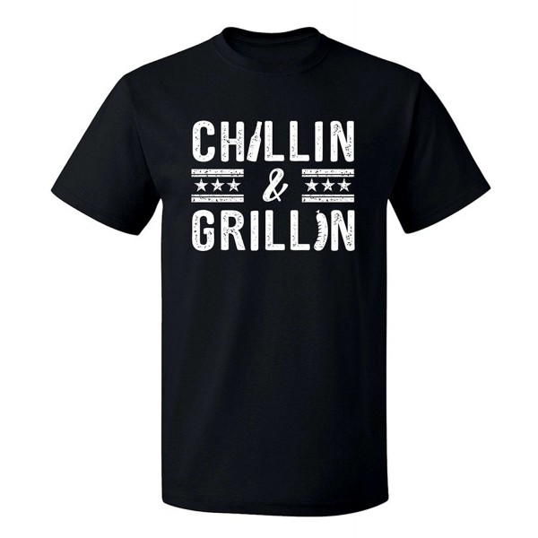 Fourth Chillin Grillin Graphic T Shirt