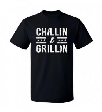 Fourth Chillin Grillin Graphic T Shirt