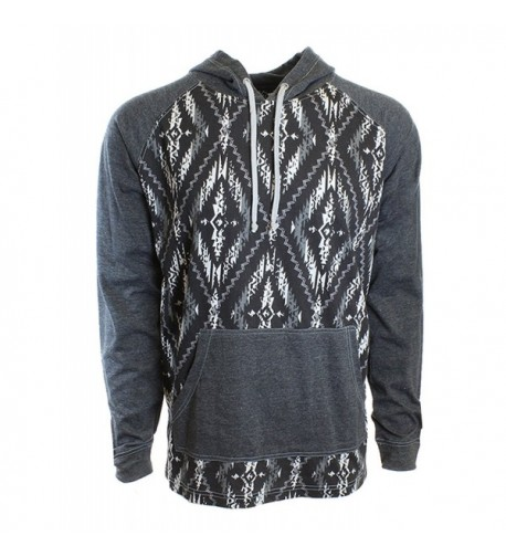 Burnside Daredevil Printed Hoodies Diamond