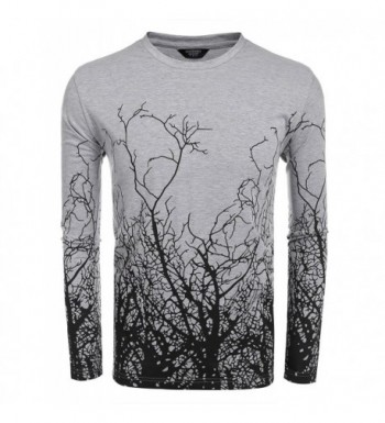 Coofandy Fashion Printed Graphic T Shirt