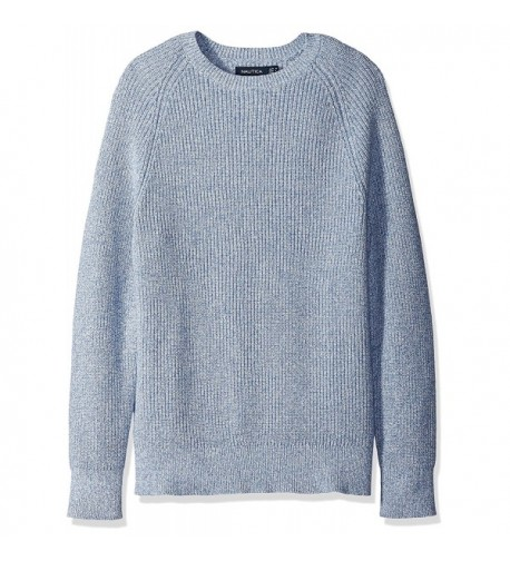 Nautica Sleeve Crewneck Sweater X Large
