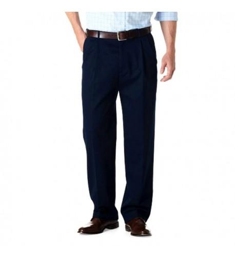 Haggar Work Weekend Pleated Pants