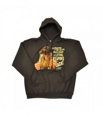 Dynasty Lethal Hoodie Brown X Large