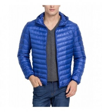 Cheering Hooded Thicken Outwear Sapphire