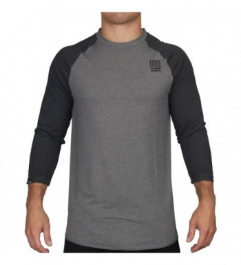 Hypnotik Performance Raglan Shirt Heather Black
