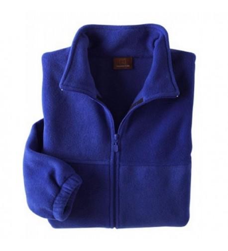 Harriton Mens Full Zip Fleece Jacket