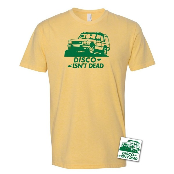 Disco T Shirt Sticker Discovery Offroad