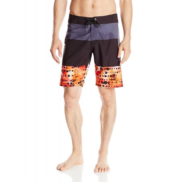 Volcom Mens Macaw Boardshort Charcoal