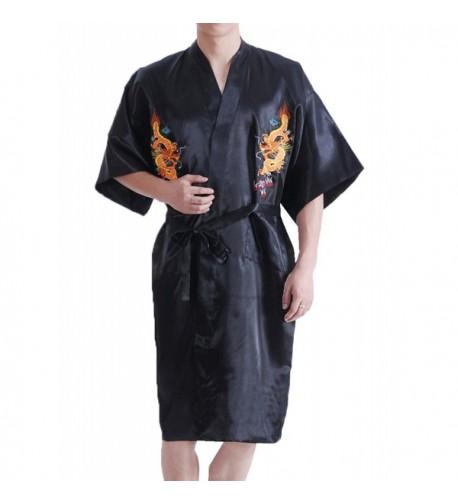 TLIH Chinese Dragon Pattern Embroidered