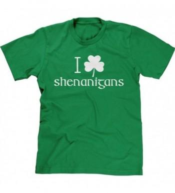 Blittzen Mens Shamrock Shenanigans Green