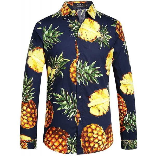 long sleeve pineapple shirt