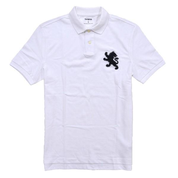 Express Pique Large Shirt White