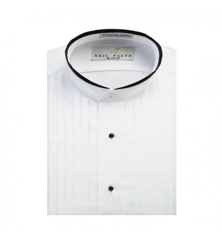 Neil Allyn Banded Collar Piping S 32 33