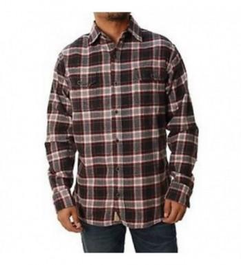 Jachs Brawny Flannel Button X Large