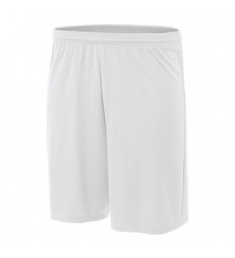 A4 Power Shorts White Large