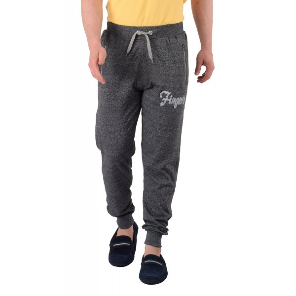 Cotton Running Jogger Zipper Pockets