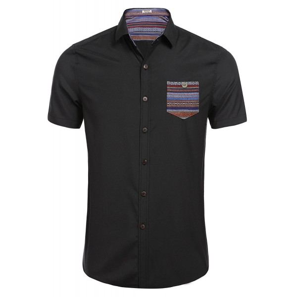 Hotouch Industrial Short Sleeve Shirt Black