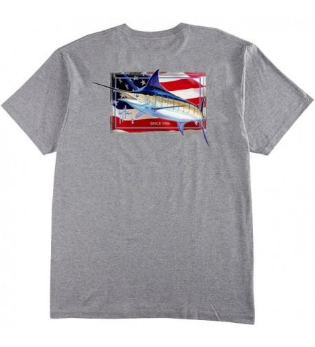 Guy Harvey Black Pocket T shirt