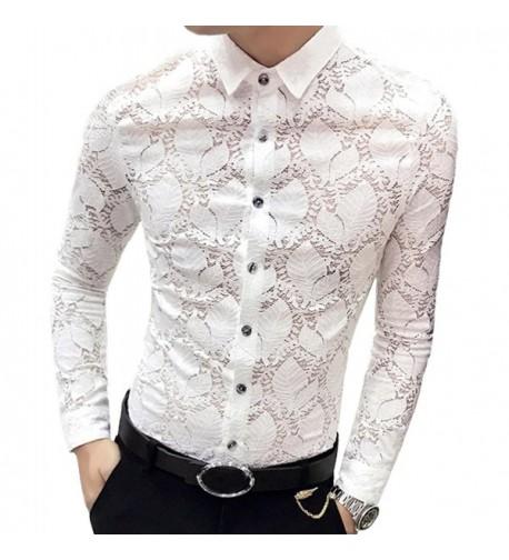OUYE Sleeve Casual Shirt Medium