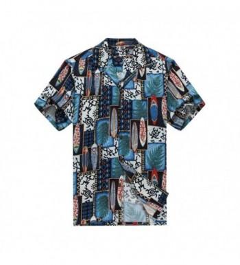 Hawaii Hawaiian Shirt Surfboards Turtle