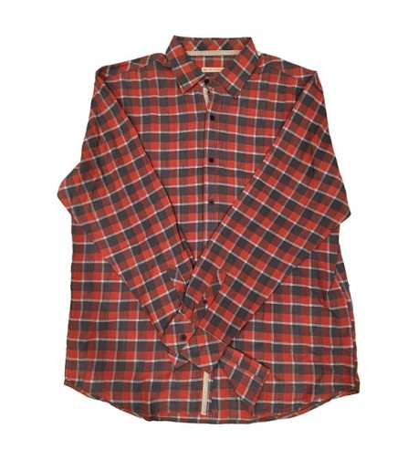 Age Wisdom Button Flannel Casual