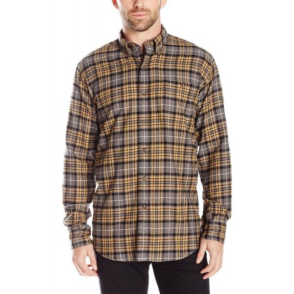Arrow Sleeve Plaid Flannel Shirt