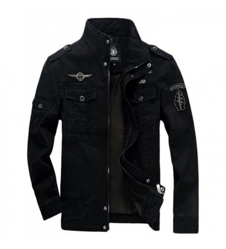 Springrain Casual Collar Tooling Jackets
