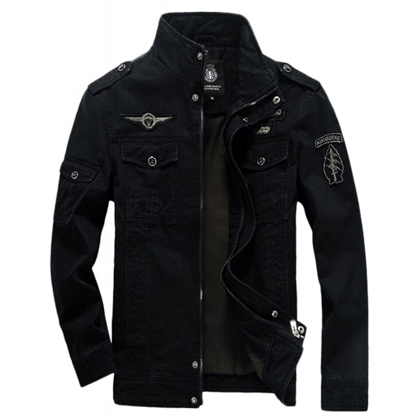 Springrain Casual Collar Tooling Jackets