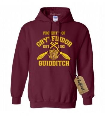 NuffSaid Gryffindor Quidditch Sweatshirt Inspired