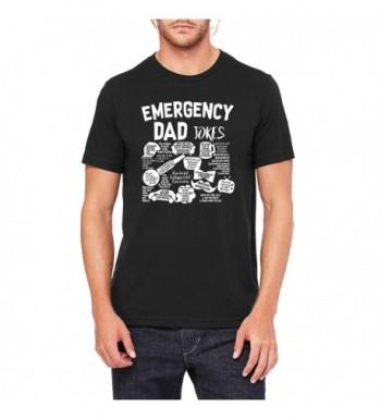 Tee Mens Emergency Jokes TEE 0078 XL Black