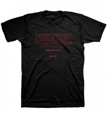 Kerusso Stronger Faith Tee Black